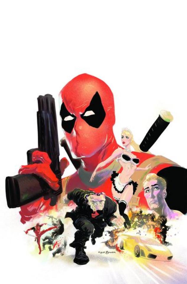 Deadpool Max: History of Violence #1