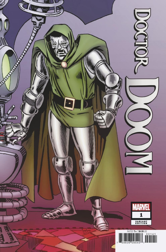Doctor Doom #1 (Ditko Hidden Gem Cover)