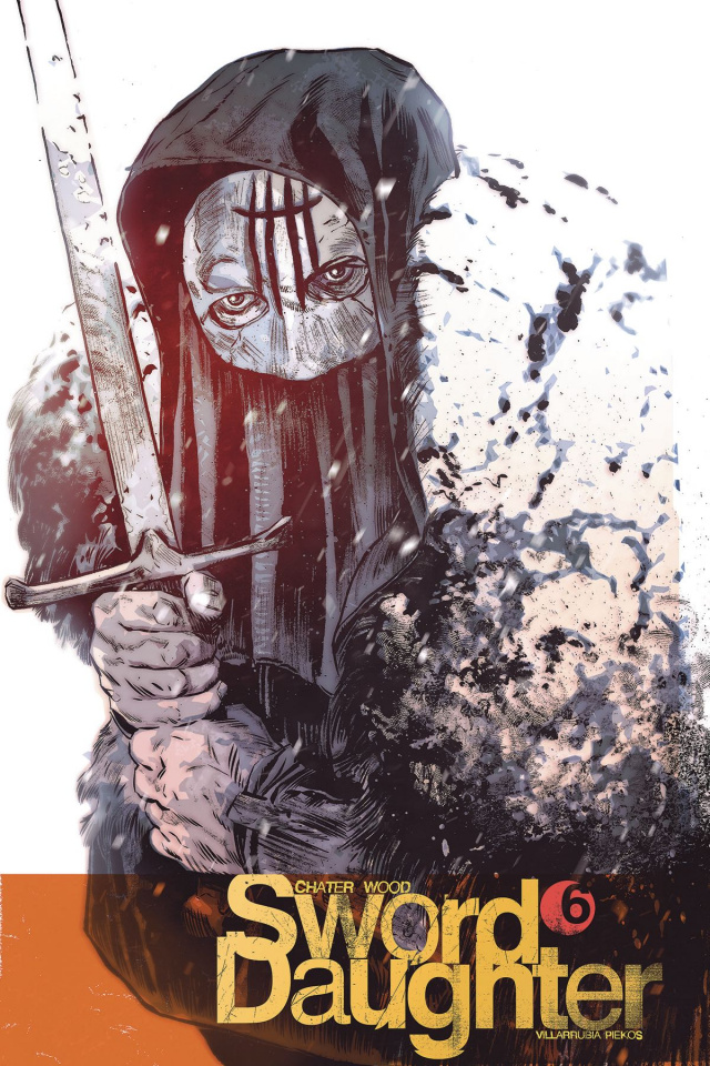 Sword Daughter #6 (Chater Cover)
