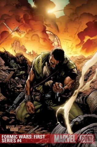 Formic Wars: Burning Earth #4