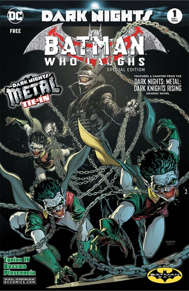The Batman Who Laughs #1 (Batman Day 2019 Special Edition)