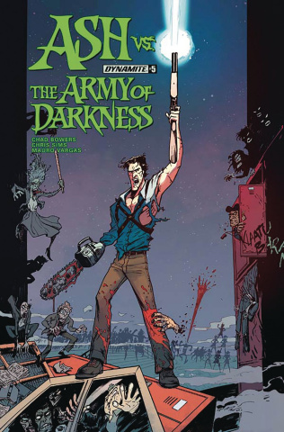 Ash vs. The Army of Darkness #5 (Vargas Cover)