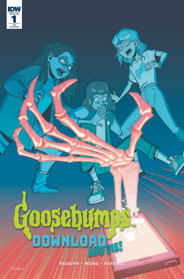 Goosebumps: Download and Die! #1 (10 Copy Cover)