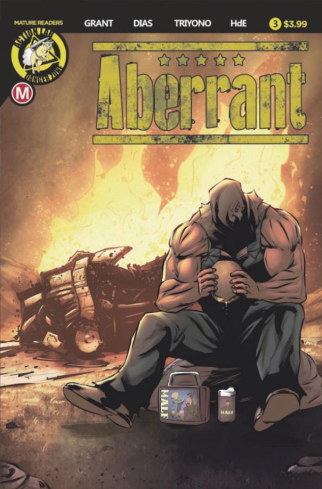 Aberrant #3 (Leon Dias Cover)