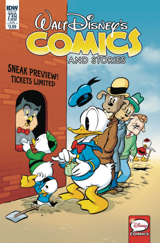 Walt Disney's Comics and Stories #739 (Kelly Cover)