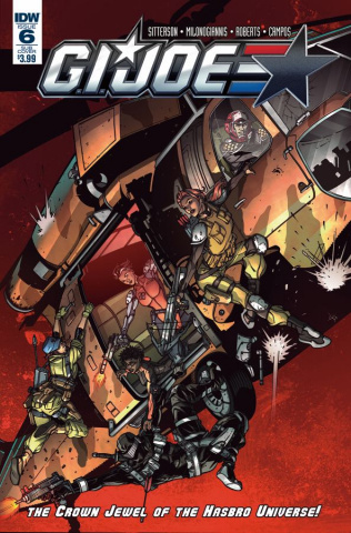 G.I. Joe #6 (Subscription Cover B)