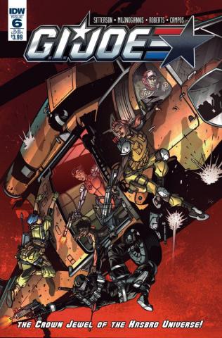 G.I. Joe #6 (Subscription Cover B)