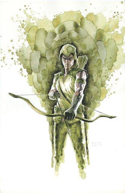 Green Arrow #8 Var Ed (Mac Cover)