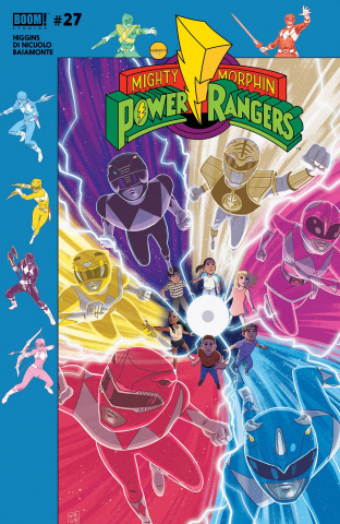Mighty Morphin' Power Rangers #27 (Subscription Gibson Cover)