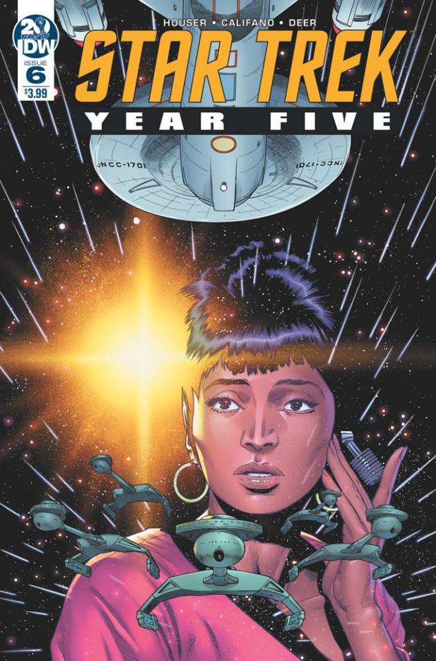 Star Trek: Year Five #6 (Thompson Cover)