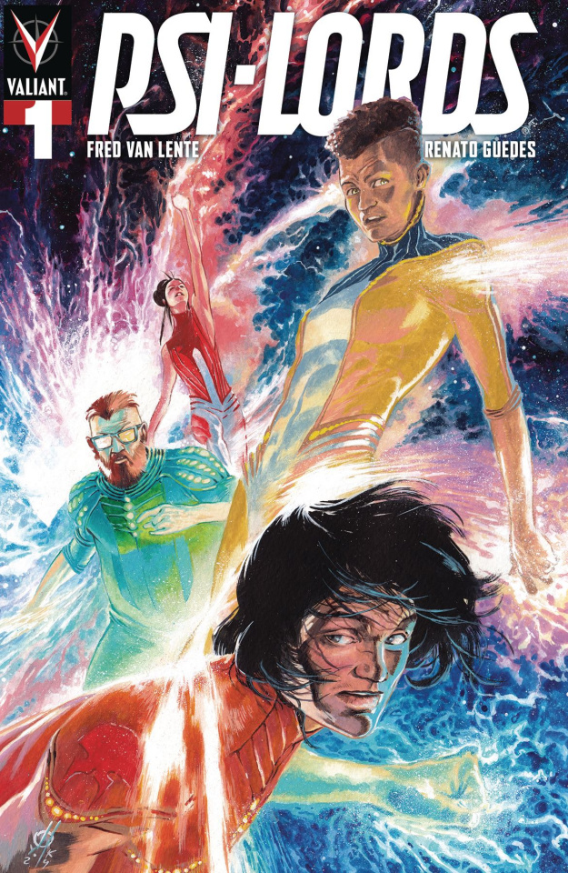 Psi-Lords #1 (250 Copy Cosmic Metal Cover)