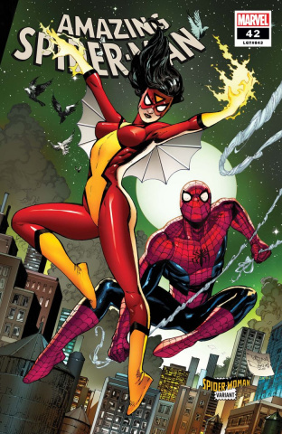 The Amazing Spider-Man #42 (Daniel Spider-Woman Cover)