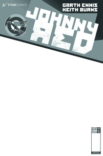 Johnny Red #1 (Blank Sketch Cover)