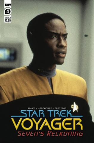 Star Trek: Voyager - Seven's Reckoning #4 (Photo Cover)
