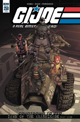 G.I. Joe: A Real American Hero #250 (15 Copy Cover)