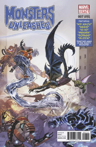 Monsters Unleashed! #7 (2nd Printing)