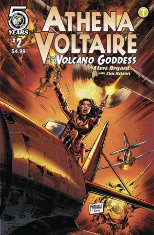 Athena Voltaire and the Volcano Goddess #2 (Hardman Cover)