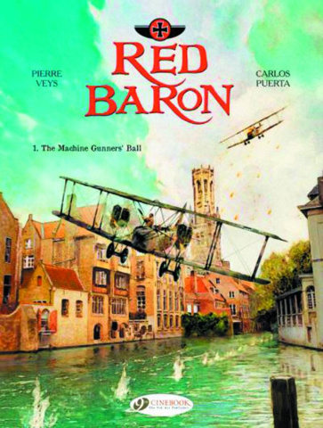 Red Baron Vol. 1: The Machine Gunners' Ball