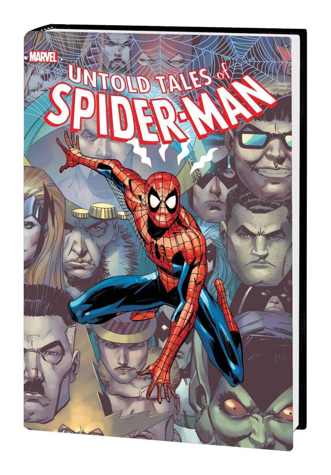 Untold Tales Spider-Man (Omnibus Villains Cover)