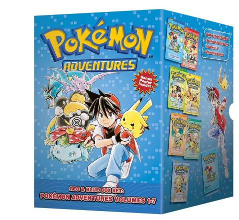 Pokémon Adventures Vol. 1: Red / Blue (Box Set)