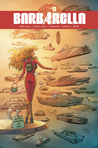 Barbarella #9 (Yarar Subscription Cover)