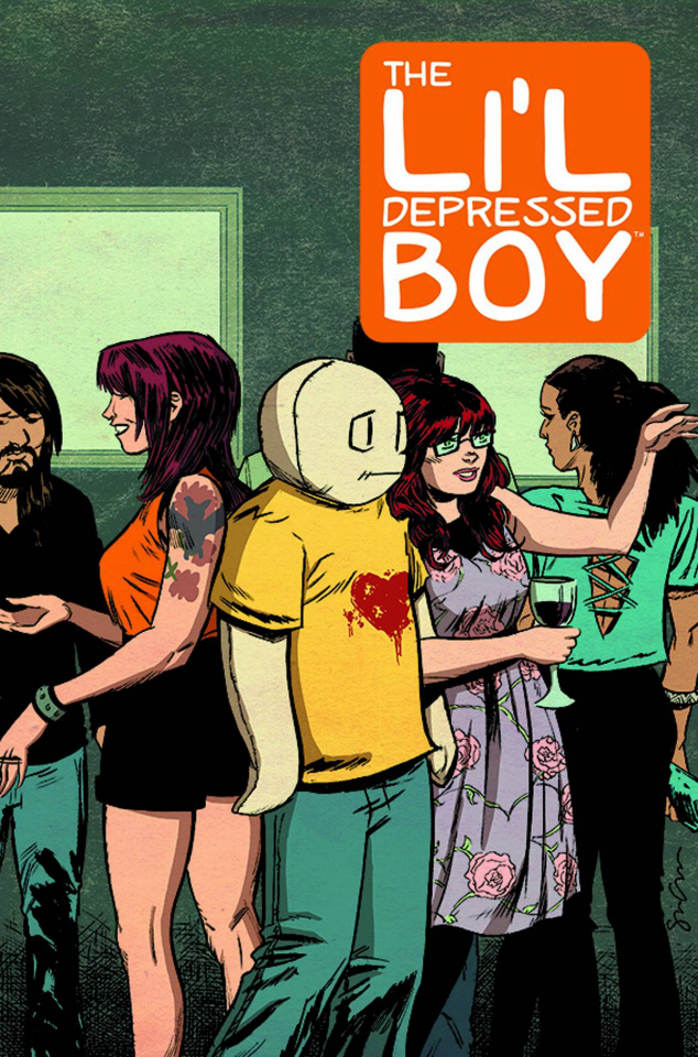 The Li'l Depressed Boy: Supposed To Be There, Too #1