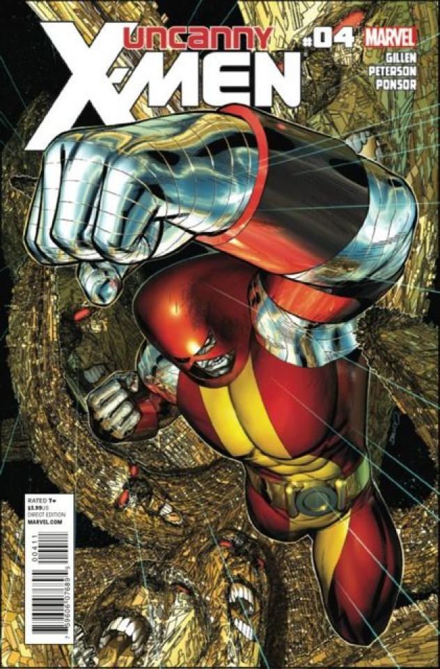 Uncanny X-Men #4