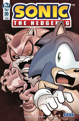 Sonic the Hedgehog #20 (Stanley Cover)
