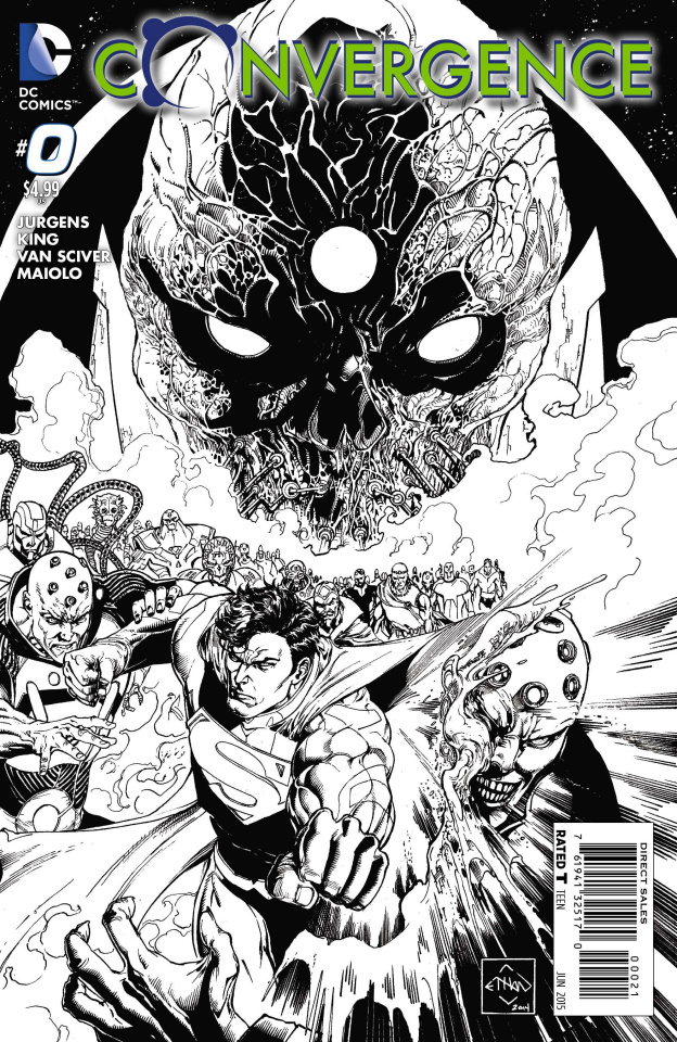 Convergence #0 (Black & White Cover)