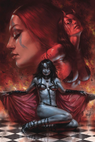 Red Sonja: Age of Chaos #2 (Parrillo Virgin Cover)