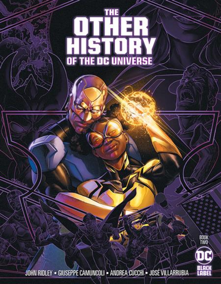 The Other History of the DC Universe #2 (Jamal Campbell Cover)