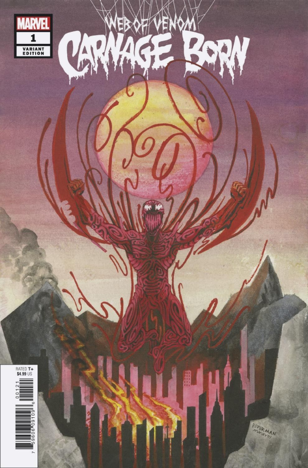 Web of Venom: Carnage Born #1 (Bederman Cover)