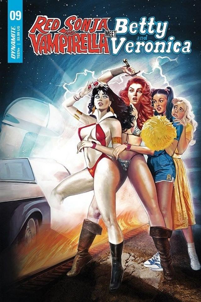 Red Sonja and Vampirella Meet Betty and Veronica #9 (Dalton Cover)