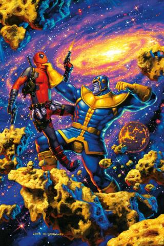 Deadpool vs. Thanos #2 (Hildebrandt Cover)