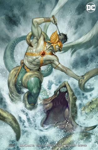 Hawkman #12 (Variant Cover)
