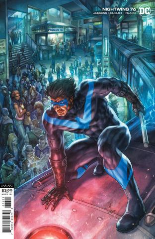 Nightwing #76 (Alan Quah Cover)