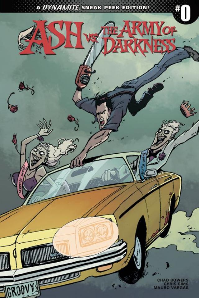 Ash vs. The Army of Darkness #0 (20 Copy Vargas Sneak Peek Cover)
