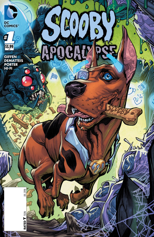 Scooby: Apocalypse #1 (Scooby Cover)