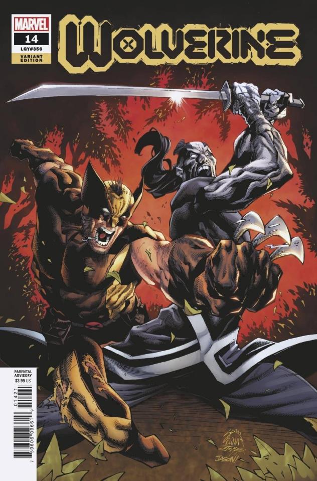 Wolverine #14 (Stegman Cover)