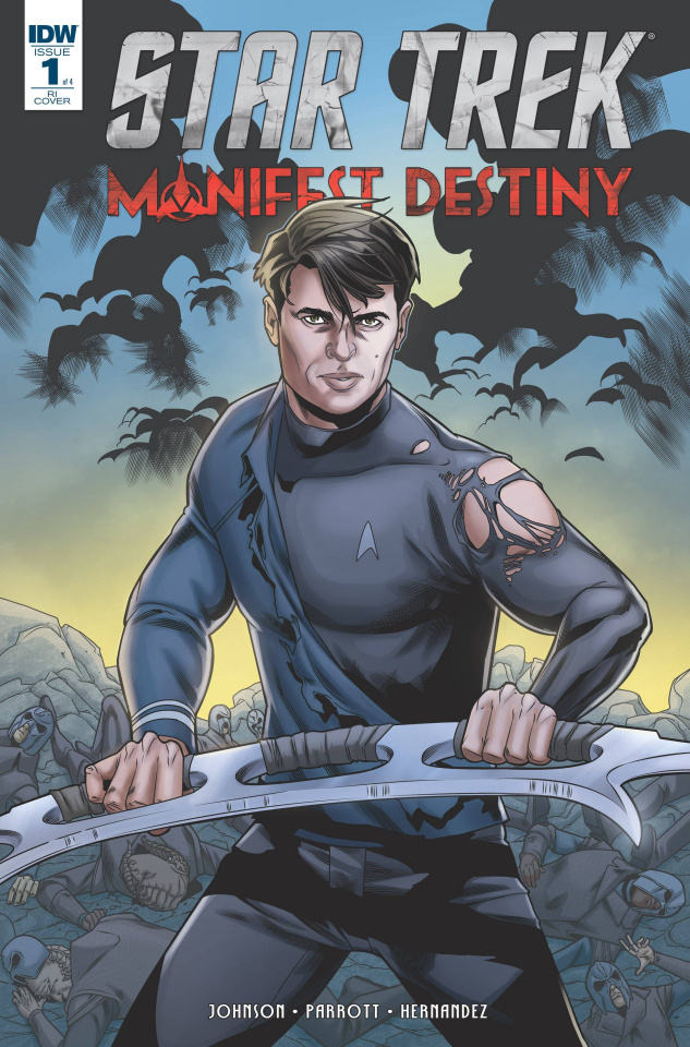 Star Trek: Manifest Destiny #1 (10 Copy Cover)
