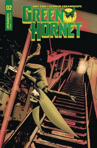 Green Hornet #2 (McKone Cover)