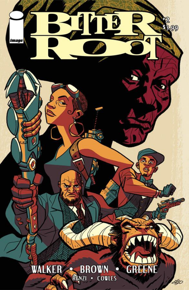 Bitter Root #2 (Cho Cover)