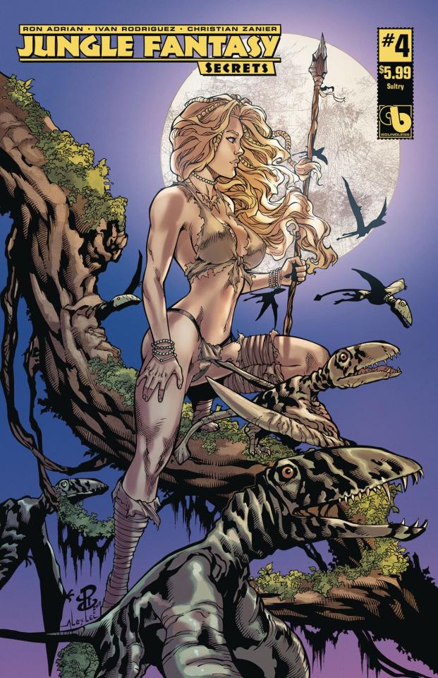 Jungle Fantasy: Secrets #4 (Sultry Cover)