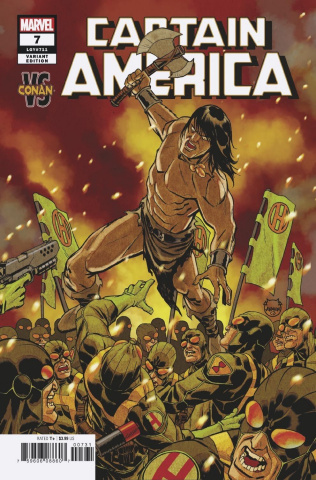 Captain America #7 (Johnson Conan Cover)