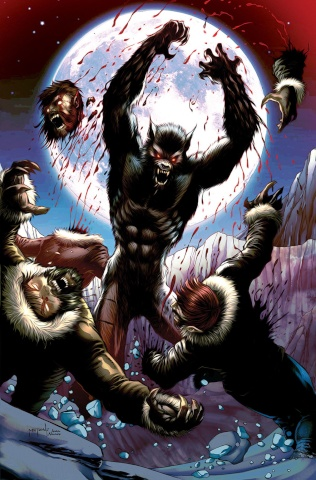 Van Helsing vs. The Werewolf #4 (Metcalf Cover)