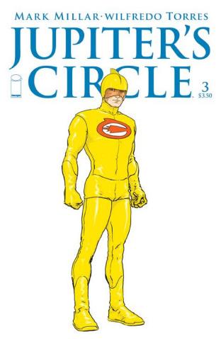 Jupiter's Circle #3 (Quitely Character Design Cover)