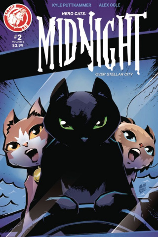 Hero Cats: Midnight Over Stellar City #2