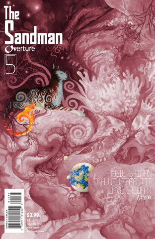The Sandman: Overture #5 (Special Ink Cover)
