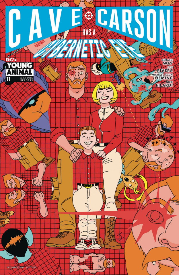 Cave Carson Has a Cybernetic Eye #11 (Variant Cover)