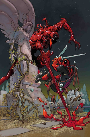 Absolute Carnage vs. Deadpool #1 (Ferry Virgin Cover)
